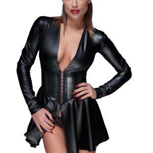 черна секси рокля