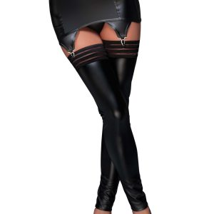 черен еротичен жартиерен колан